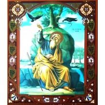 Icoana Sfantul Prooroc Ilie Tesviteanul 22X28 cm