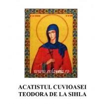Acatist Cuvioasa Teodora de la Sihla