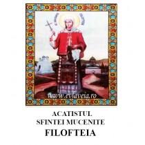 Acatist Sfanta Filofteia