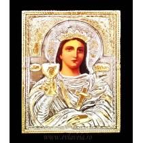 B6 - Icoana Argintata / Aurita Sfanta Varvara