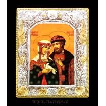 A3 - Icoana Argintata / Aurita Sfintii Petru si Fevronia