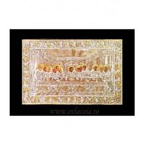 Icoana Argintata / Aurita 19x24 cm Cina Cea de Taina