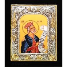 Icoana 19 X 24 cm Argintata / Aurita Sfantul Prooroc David