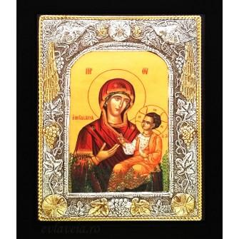 Icoana Argintata / Aurita 19x24 cm Pomul Maicii Domnului