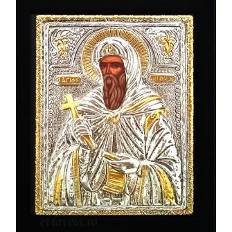 E30 - Icoana Argintata / Aurita Sfantul Antonie cel Mare