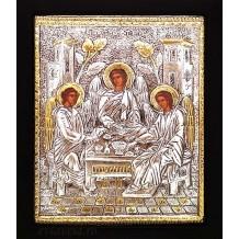 Icoana Argintata / Aurita 19x24 cm Sfanta Treime