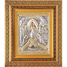 Icoana Rama / Sticla, Invierea Domnului