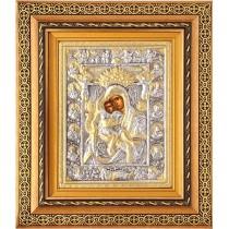 D21 - Icoana Argintata / Aurita, Maica Domnului Axionita
