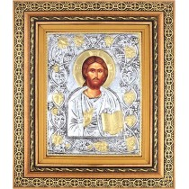 E16 - Icoana Argintata  / Aurita, Iisus Hristos