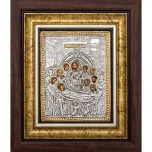 Icoana Rama / Sticla 25 X 30 cm, Adormirea Maicii Domnului