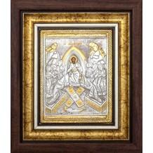 Icoana Rama / Sticla 25 X 30 cm, Invierea Domnului