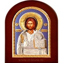Icoana Argintata 20X26 cm Iisus Hristos