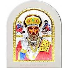Icoana Argintata 15X21 cm Sfantul Ierarh Nicolae