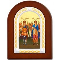 Icoana Sfintii Arhangheli Mihail si Gavriil 15 X 21 cm