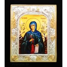 Icoana 19X24 cm Sfanta Teodora de la Sihla