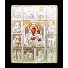 Icoana 19X24 cm Maica Domnului Ierusalim