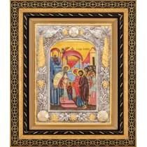 Icoana Intrarea Maicii Domnului în Biserica 27 X 32 cm