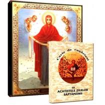 Icoana Acoperamantul Maicii Domnului si Carte de Rugaciuni