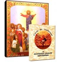 Icoana Inaltarea Domnului si Carte de Rugaciuni