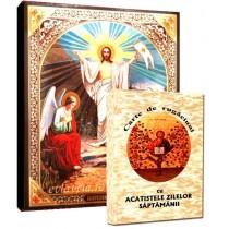 Icoana Invierea Domnului si Carte de Rugaciuni