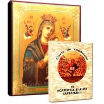 Icoana Maica Domnului Izbavitoarea si Carte de Rugaciuni