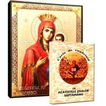 Icoana Maica Domnului Portarita si Carte de Rugaciuni