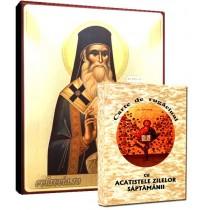 Icoana Sfantul Nectarie si Carte de Rugaciuni
