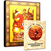 Icoana Sfantul Dimitrie si Carte de Rugaciuni