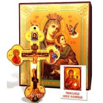 Icoana, Cruce de Perete si Acatist - Maica Domnului Izbavitoarea