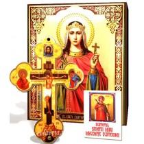 Icoana, Cruce de Perete si Acatist - Sfanta Ecaterina