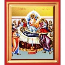 Icoana 19X25 cm Pictata Adormirea Maicii Domnului
