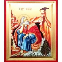 Icoana Pictata Sfantul Prooroc Ilie 14X18 cm
