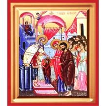 Icoana Pictata Intrarea Maicii Domnului în Biserica