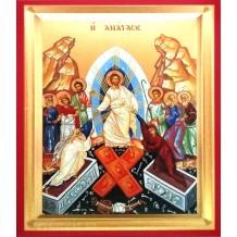 Icoana Pictata 19X25 cm Invierea Domnului