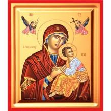 Icoana Pictata 19X25 cm Maica Domnului Izbavitoarea