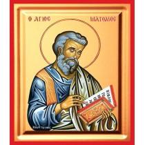 Icoana 19X25 cm Sfantul Apostol Matei