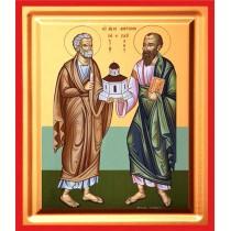 Icoana 19x25 cm Sfintii Apostoli Petru si Pavel