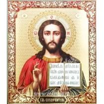 Icoana 20.5X24.5 cm Iisus Hristos Pantocrator