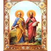 Icoana Sfintii Apostoli Petru si Pavel 20.5X24.5 cm
