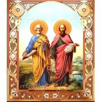 Icoana 20.5X24.5 cm Sfintii Apostoli Petru si Pavel