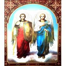 Icoana 30X40 cm Sfintii Arhangheli Mihail si Gavriil