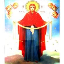 Icoana 30X40 cm Acoperamantul Maicii Domnului