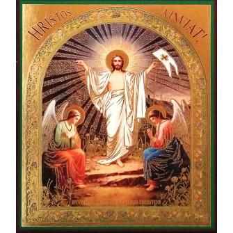Icoana Litografie Invierea Domnului 10 X 12 cm