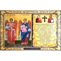 Icoana Sfintii Arhangheli Mihail si Gavriil