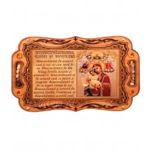 Iconita Binecuvantarea Casei Maica Domnului Axionita