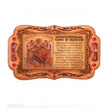 Iconita Binecuvantarea Casei Maica Domnului Pantanassa