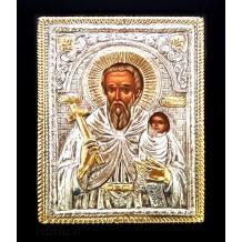 Icoana 19x24 cm Argintata / Aurita Sfantul Stelian