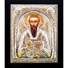 D12 - Icoana Argintata / Aurita Sfantul Vasile cel Mare