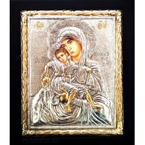 B2 - Icoana Argintata / Aurita Maica Domnului Milostiva