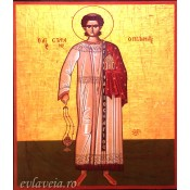 Icoana Litografie 15X18 cm Sfantul Mucenic Stefan